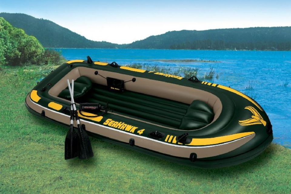Лодка Seahawk 4 Intex 68351