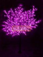 """Светодиодное дерево """"Сакура"""", высота 3,6м, диаметр кроны 3,0м, фиалетовые светодиоды, IP 54, понижающий трансформатор в комплекте, NEON-NIGHT"""