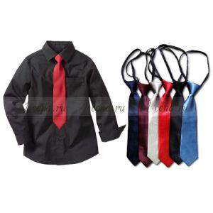 Детский галстук на регулирующийся резинке в ассортименте