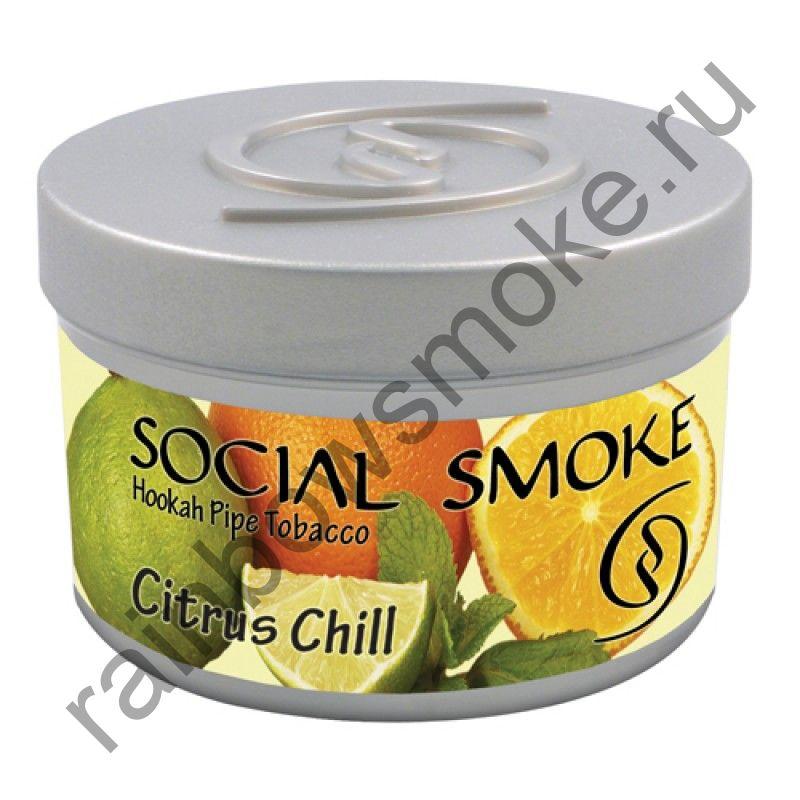 Social Smoke 250 гр - Citrus Chill (Прохладный Цитрус)