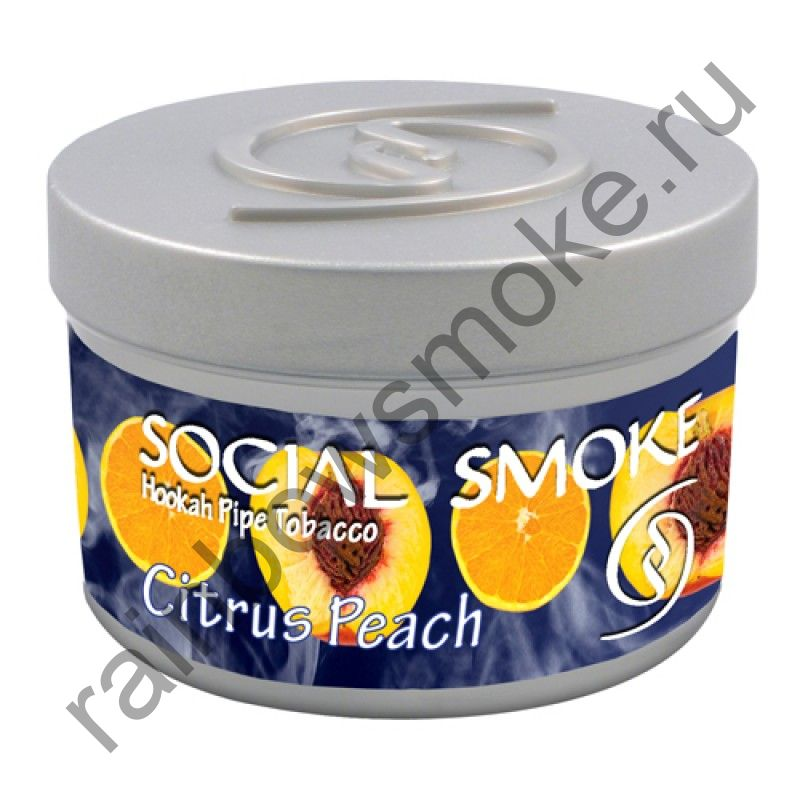 Social Smoke 250 гр - Citrus Peach (Цитрус с Персиком)