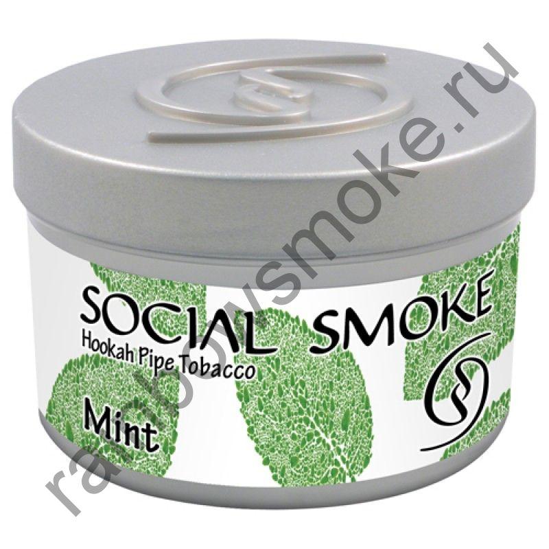 Social Smoke 250 гр - Mint (Мята)