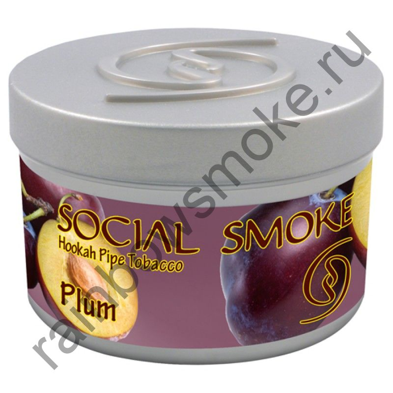 Social Smoke 250 гр - Plum (Слива)
