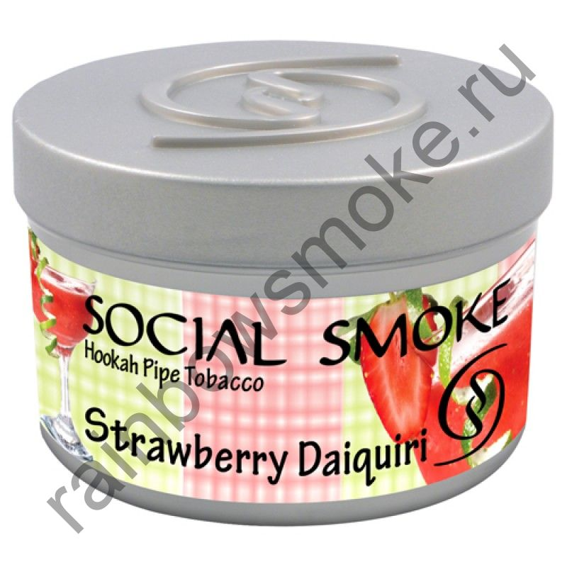 Social Smoke 250 гр - Strawberry Daiquiri (Клубничный Дайкири)