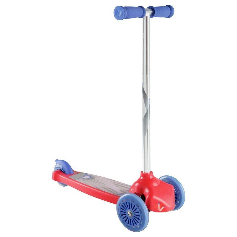 Детский 3-х колесный самокат