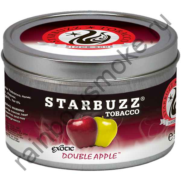 Starbuzz Exotic 250 гр - Double Apple (Двойное Яблоко)
