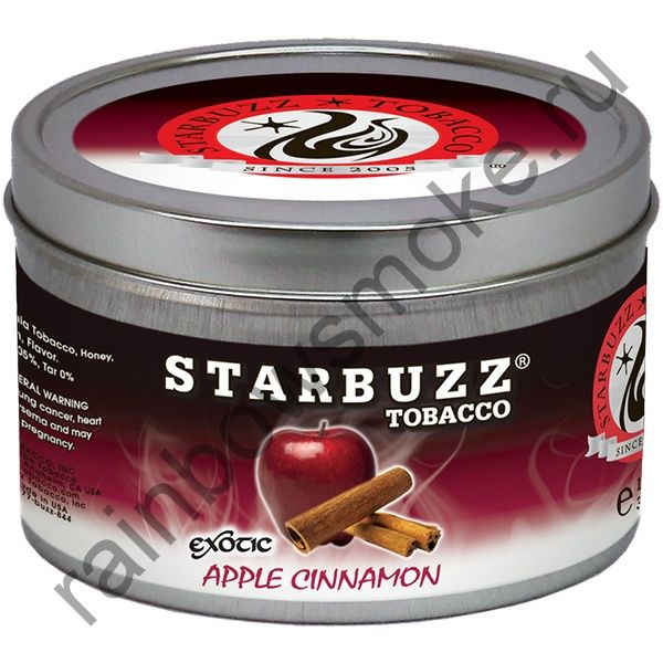 Starbuzz Exotic 250 гр - Apple Cinnamon (Яблоко с Корицей)