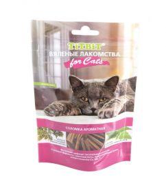 TiTBiT Вяленые лакомства Соломка ароматная для кошек (40 г)