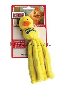 """Kong игрушка для кошек """"Вубба-уточка"""" кошачья мята"""