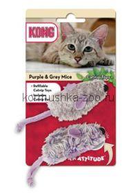 """Kong игрушка для кошек """"Мышки"""" 2 шт"""