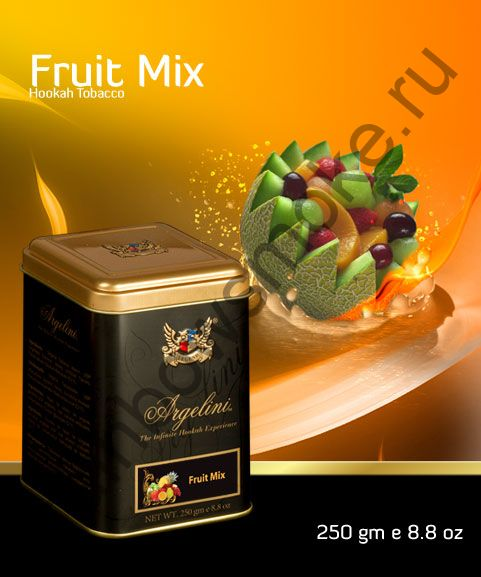 Argelini 250 гр - Fruit Mix (Фруктовый Микс)