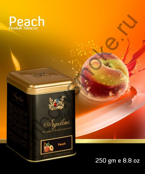 Argelini 250 гр - Peach (Персик)