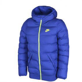Куртка утеплённая NIKE JACKET HOODED WERE 646993-480