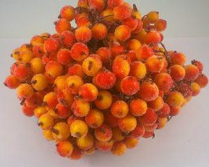 Ягоды в сахарной обсыпке 12 мм (длина 16см). 1 уп = 400 ягодок, Арт. ЯГ0018