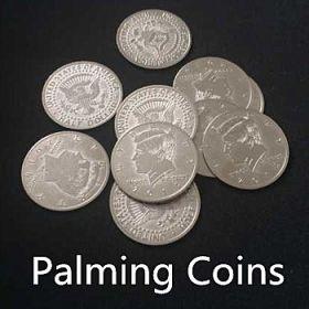 Набор монет для пальмирования (20 штук, Half Dollar)
