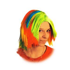 Парик «Радуга», разноцветный