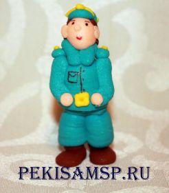 Сахарные фигурки ПОЛИЦЕЙСКИЙ