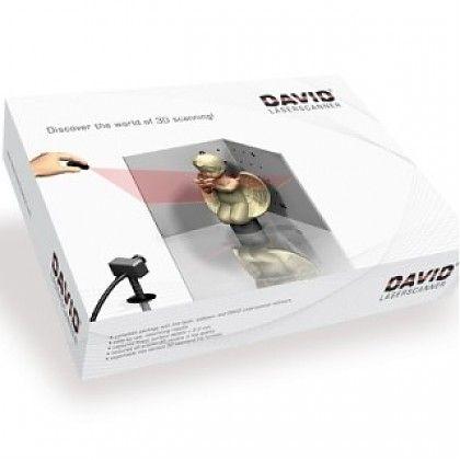 3D сканер David Laserscanner Starter Kit V.2