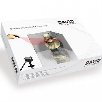 3D сканер David Laserscanner Starter Kit V.2