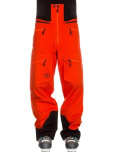 Ortovox MERINO GUARDIAN SHELL 3L [MI] pants M orange