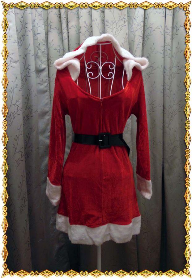 Бархатное платье Мисс Санты