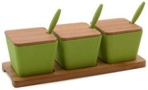 Набор баночек на подставке Cook&Co (10 пр.) 2800051