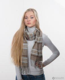 шотландский шарф 100% шерсть ягнёнка , расцветка деревушки Драйбридж Drybridge tartan ,плотность 6