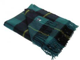 Шотландский плед, тартан клана Уоллес (Храброе сердце) Охотничий вариант  Wallace Hunting