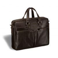 Вместительная деловая сумка BRIALDI Lakewood (Лэйквуд) brown