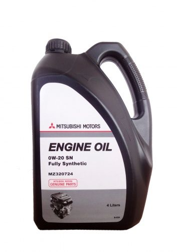 Моторное масло MITSUBISHI Engine Oil Fully Synthetic SN/GF-5 SAE 0W-20 (4л)