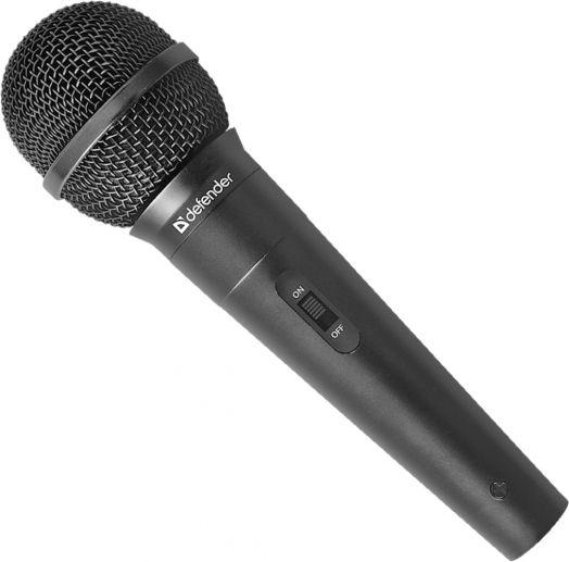 Караоке Микрофон караоке Defender MIC-130 черный