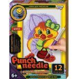 Набор для творчества Ковровая вышивка Punch Needle. Уточка, Danko Toys