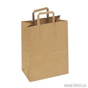 Пакет крафт без печати 33 х 43 х 18 см.