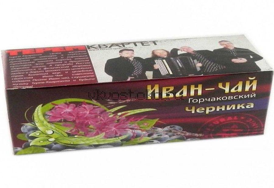 Иван-чай Горчаковский Черника 20 пакетиков(шт)