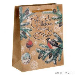 """Пакет подарочный """"Новогодняя елка"""""""