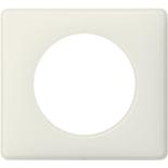 Legrand Celiane2 Рамка на 1 пост, белая перкаль