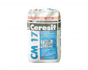 Клей для плитки СМ17 25кг эластичный Церезит 1уп=48шт