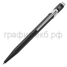 Ручка шариковая Caran d'Ache Office Popline черная М 849.509