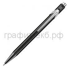 Ручка шариковая Caran d'Ache Office Popline Metal-X черный М 849.809