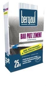 Штукатурка фасадная Bau Putz Zement 25кг Bergauf 1уп=56шт