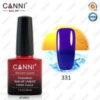 Термогель-лак Canni #331 (темно-синий - фиолетовый) 7.3 ml