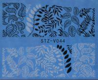 Наклейка водная для дизайна ногтей V044