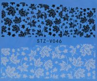 Наклейка водная для дизайна ногтей V046