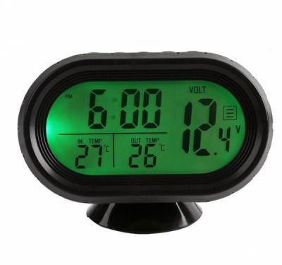 Часы авто VST7009V-2 зелёные
