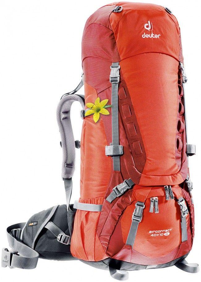 Deuter Aircontact Aircontact 40 + 10 SL papaya-lava туристический рюкзак