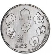 40 лет введения института  Омбудсмена  2,5 евро Португалия  2015