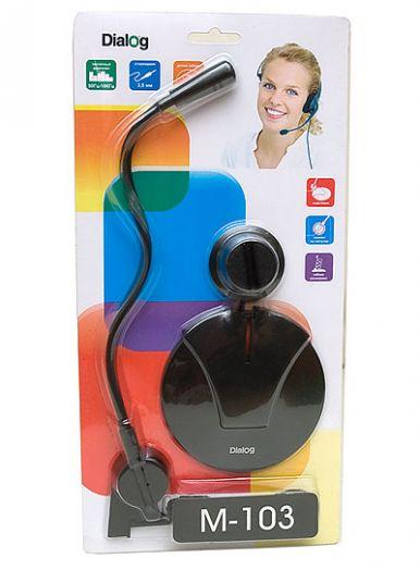 Микрофон ПК Dialog M-103B