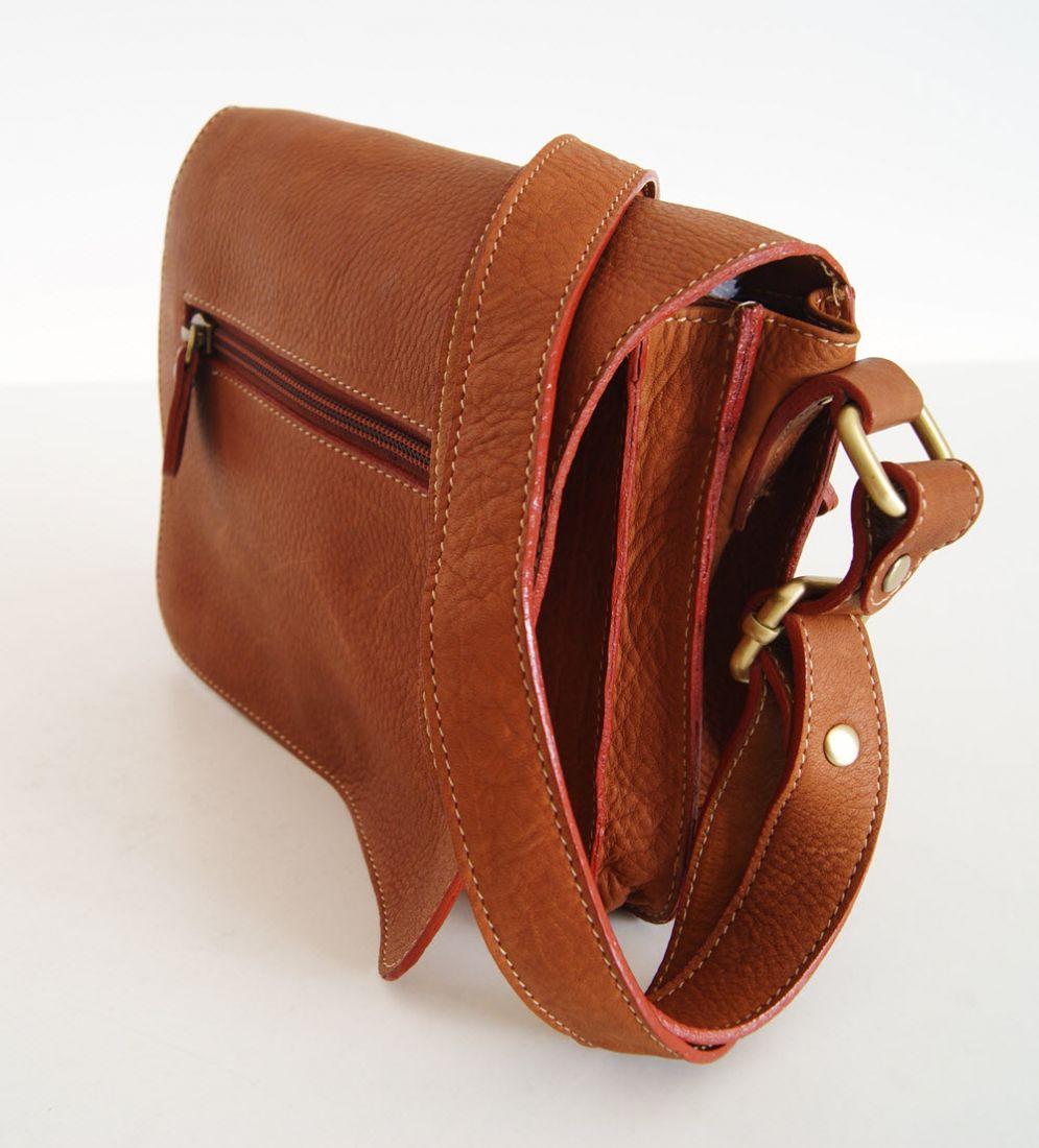 BUFALO SMJ01 рыжая мужская сумка для документов