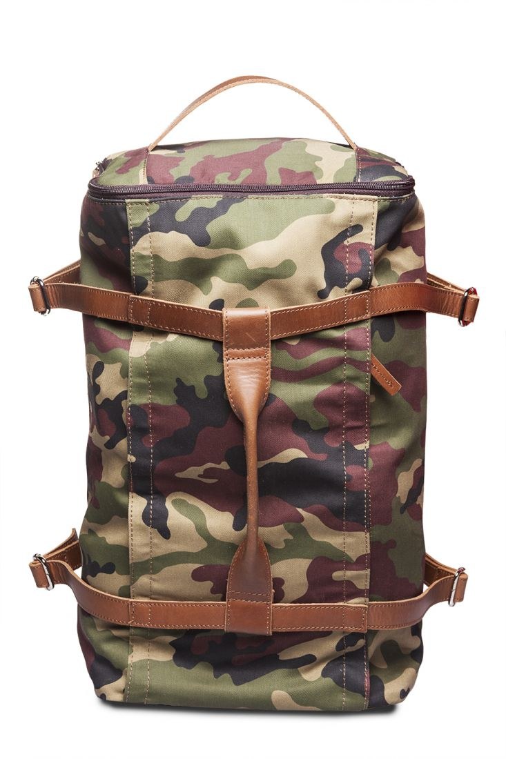 HADLEY EXPLORER CAMO 51 сумка-рюкзак-трансформер