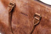 HADLEY LANFORT NUT дорожная сумка из буйволиной кожи
